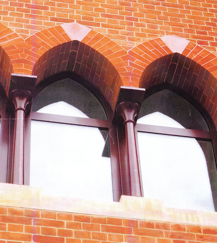 Brickwork commendation: st pancras chambers, london nw1